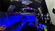 Baltas limuzinas Alytuje