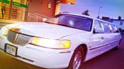10 vietų baltas klasikinis limuzinas Alytuje