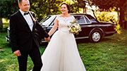Stilingas automobilis vestuvėms