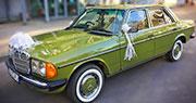 Senovinis Automobilis Druskininkuose | 1981 m. Mercedes-Benz