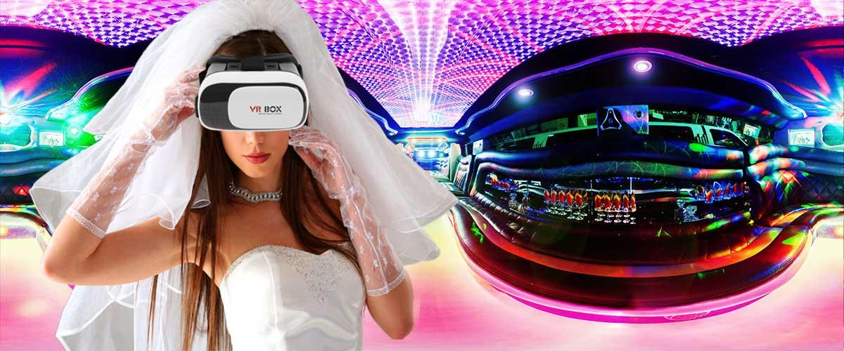 Virtuali Realybė- limuzinų vidus