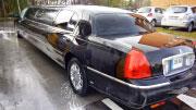Lincoln juodo limuzino nuoma