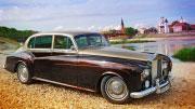 Senovinio Rolls Royce automobilio nuoma.