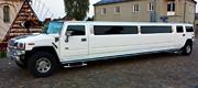 Baltas vestuvinis Hummer