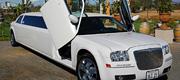 Chrysler limuzino nuoma vestuvėms pajūryje