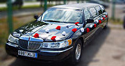 Nuomojamas limuzinas Lincoln juodas Klaipėdoje