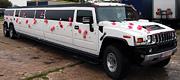 Vieninteis naujo modelio Hummer limuzinas