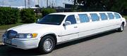 14 vietų  baltas limuzinas Marijampolėje