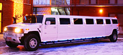 Sniego baltumo Hummer limuzinas Marijamolėje
