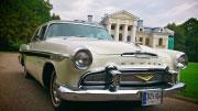 Sena mašina- DeSoto, pagaminta 1957 metais.
