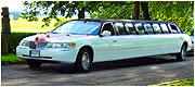 Nuomojamas baltas 14 vietų limuzinas Lincoln Panevėžyje