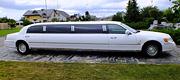 Vestuvinis baltas limuzinas Panevėžyje