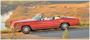 Cadillac Eldorado raudonas