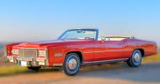 Cadillac Eldorado Amerikietiškas senovinis kabrioletas
