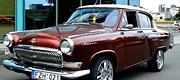 GAZ 21 Volga retro automobilis