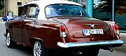 Senovinis automobilis GAZ 21 Retro stiliaus