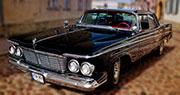 Chrysler Imperial | 1963 m. Juodas retro Klaipėdoje