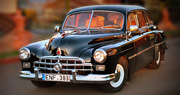 Senovinis tarybinis automobilis vestuvėms | 1951 ZIM GAZ-12