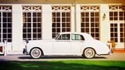 Vestuvinis automobilis retro Rolls Royce