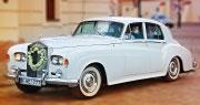 Baltas Vestuvinis Retro | 1962 m. Rolls-Royce