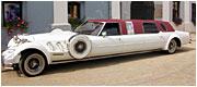 Retro limuzinas Cadillac