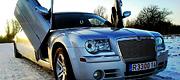 Gražus Chrysler limuzinas vestuvėms Šiauliuose