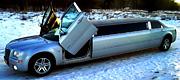 Šiauliuose prabangus Chrysler limuzinas