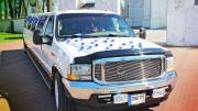 Ford ilgas baltas svajonių limuzinas