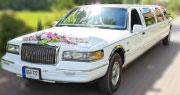 Nebrangus limuzinas | Lincoln Baltas 10 vietų