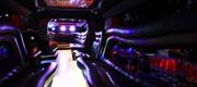 Hummer H2 šviečiančios grindys
