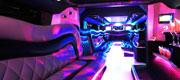 Limuzino Hummer H2 vidaus apšvietimas