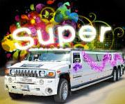 SUPER Limuzinas Hummer H2 | 26-28 vietos