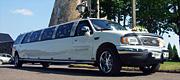 Šiauliuose baltas limuzinas