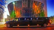 Įspūdingas juodas limuzinas Vilniuje