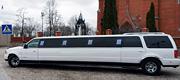 Nuomojamas 16 vietų baltas limuzinas vestuvėms