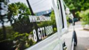 19 vietų baltas limuzinas vestuvėms