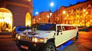 19 vietų baltas limuzinas Vilniuje