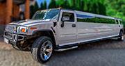 19 vietų limuzinas | Baltas Hummer H2