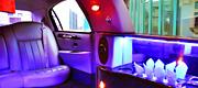 6 vietų limuzino odinis salonas