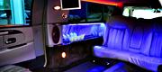 komfortiškas limuzino vidus 6 vietų
