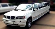 Balto prabangaus BMW limuzino nuoma Vilniuje