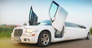Baltas CHRYSLER limuzinas | Lamborghini