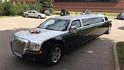 Chrysler juodas limuzinas
