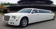 Chrysler limuzino nuoma Vilniuje | Baltas 12 Vietų
