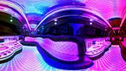 Virtuali realybė limuzine Infiniti QX56.