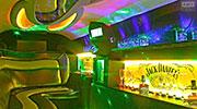 Puikiai apšviestas limuzino vidus