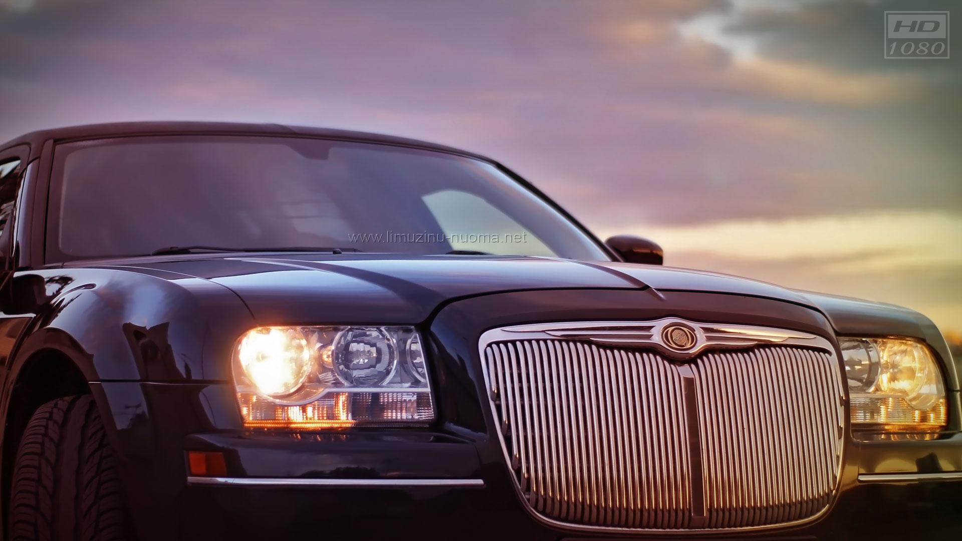 ELEGANTIŠKAS Chrysler C Limuzinas Vilniuje Juodas - Chrysler pap