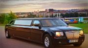 Chrysler- stilingas juodas limo