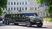 Nuomojamas juodas Hummer H2 Vilniuje Vestuvėms