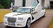 Chrysler 300C Baltas Vestuvėms | Lambo Doors